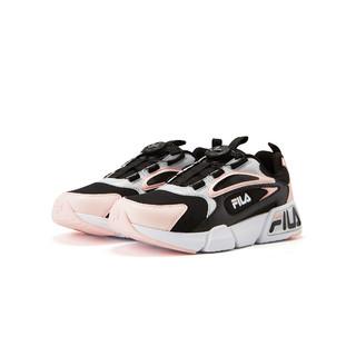 FILA 斐乐 女中大童(33-38)女童鞋低帮轻便复古跑鞋时尚休闲运动鞋子