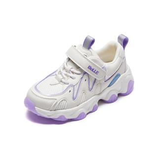 BeLLE 百丽 女童运动鞋2021年秋季新款儿童透气网面休闲老爹鞋中大童鞋子
