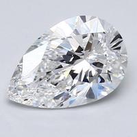 Blue Nile 梨形钻石 1.70 克拉