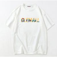 Glemall 哥来买 休闲宽松百搭男士短袖T恤