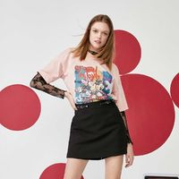 VERO MODA 3212T1050 女士米奇图案T恤