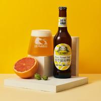 临期品:Zebra Craft 斑马精酿 柚子森林西柚果味啤酒 330ml*6瓶装