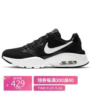 NIKE 耐克 女子 休闲鞋 气垫 舒适 AIR MAX FUSION 运动鞋 CJ1671-003黑色