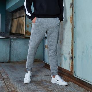 Kappa 卡帕 21年新款男款运动长裤加绒休闲收口小脚卫裤运动裤男