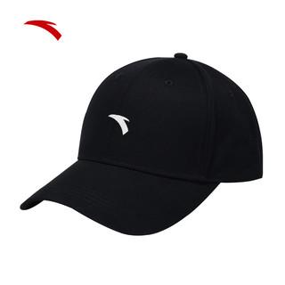 ANTA 安踏 运动帽子男士嘻哈帽秋官网旗舰棒球帽鸭舌帽女防晒户外遮阳帽