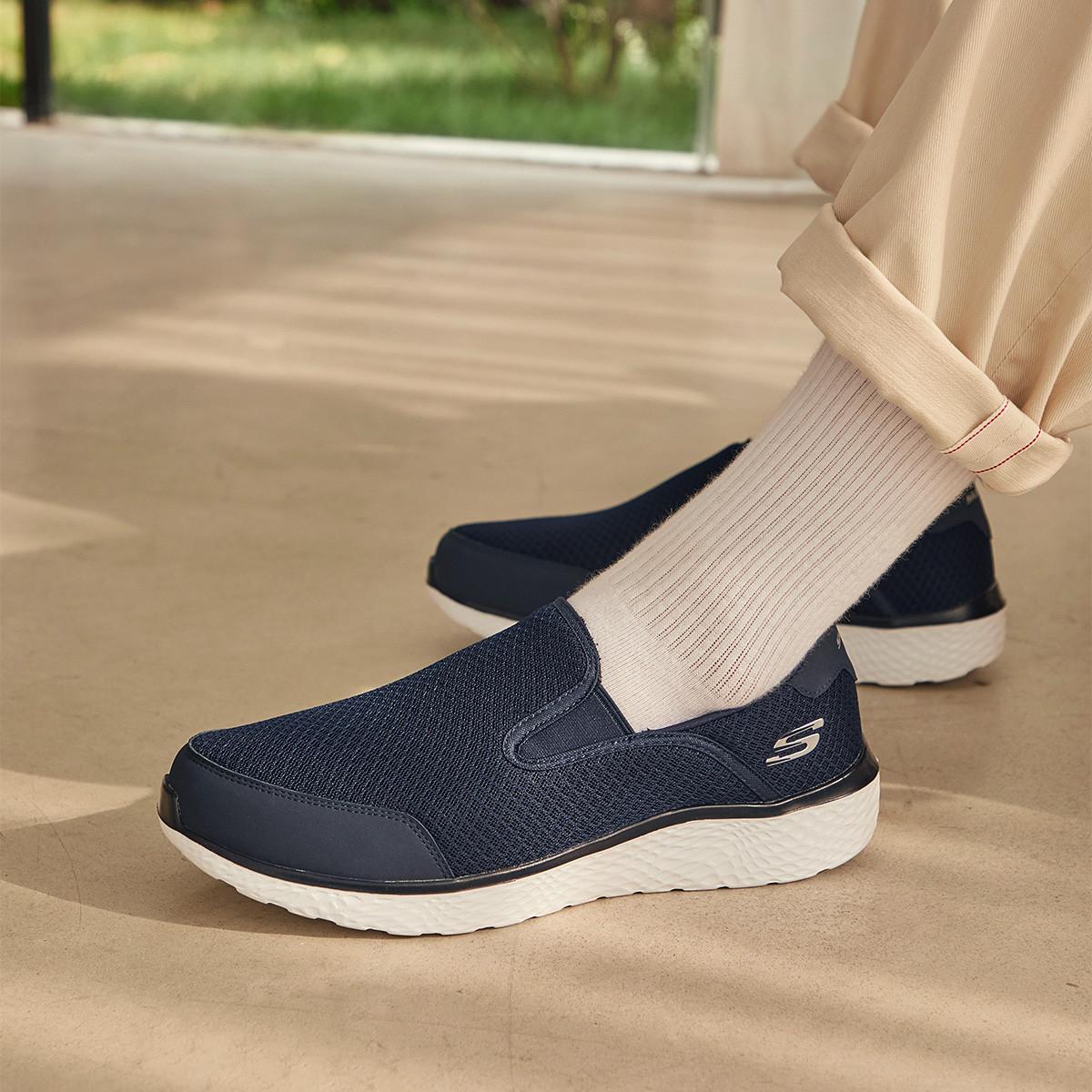 SKECHERS 斯凯奇 男士休闲鞋 59401-NVY