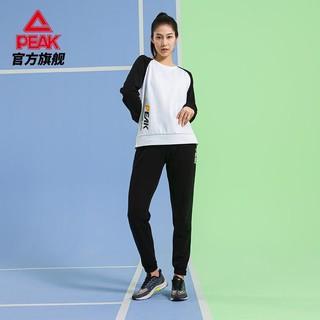PEAK 匹克 综合运动长裤女2021休闲舒适束口简约潮流针织运动裤DF303032(需用券)