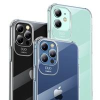 PISEN 品胜 苹果12系列 硅胶透明手机壳