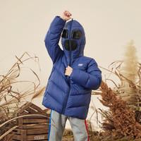SKECHERS 斯凯奇 男童梭织短款羽绒外套