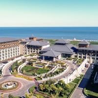 低至3.8折!北戴河阿尔卡迪亚滨海度假酒店 园景公寓大床房1晚(含双早+双人温泉)