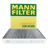 PLUS会员:MANN FILTER 曼牌滤清器 CUK26009 空调滤清器