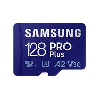 SAMSUNG 三星 PRO Plus Micro-SD存储卡 128GB(UHS-I、V30、U3、A2)