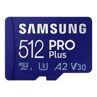 SAMSUNG 三星 PRO Plus Micro-SD存储卡 512GB(UHS-I、V30、U3、A2)