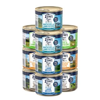 PLUS会员 : ZIWI 滋益巅峰 狗罐头 170g 10罐(羊肚羊肉4+牛3+羊鱼3)