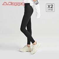 Kappa 卡帕 KP1L02 一片式鲨鱼裤 2条装