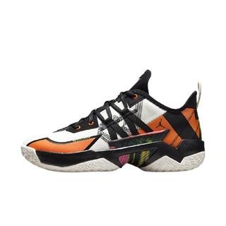 AIR JORDAN Jordan One Take Il PF 男子篮球鞋 CW2458-108 黑白橙 42