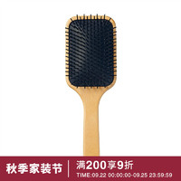 MUJI 無印良品 无印良品 MUJI 水青冈头皮护理发梳 其他 全长约22cm