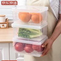 J.ZAO 京东京造 冰箱保鲜盒 正高款 2个装 大号