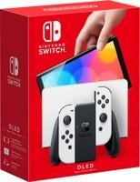 Nintendo 任天堂 海外版 Switch OLED款 高续航游戏机 黑白