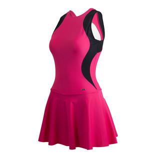 hosa 浩沙 泳衣女保守连体裙式遮肚温泉2020新款泳装小胸聚拢游泳衣