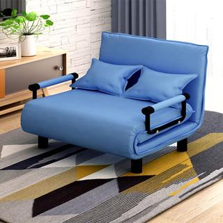 oulaiteman 欧莱特曼 1米2 1米4 折叠床 单人双人沙发床 办公室午睡午休保姆陪护沙发 灰色 升级款80宽
