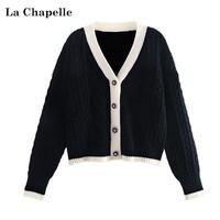 La Chapelle 拉夏贝尔 913613322 女士针织开衫外套