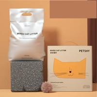 petshy 天然豆腐猫砂混合型 原味 6L