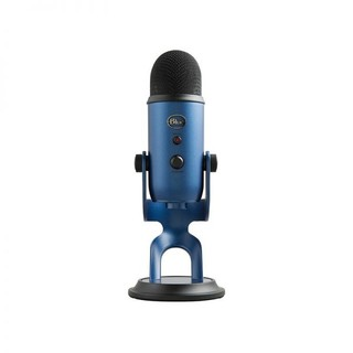logitech 罗技 Logitech)Blue USB专业电容麦克风 Yeti(午夜蓝)