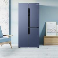 Midea 美的 BCD-443WKPZM(E) 对开门冰箱