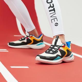 XTEP 特步 复古撞色 时尚男款跑鞋运动鞋