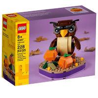 LEGO 乐高 方头仔系列 40497 万圣节猫头鹰