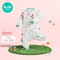 kub 可优比 KUB)睡袋婴儿秋冬薄款