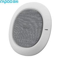 RAPOO 雷柏 Rapoo) XC200 无线充电器 支持10W快充 适配iPhone11/华为Mate30Pro/小米9等手机 Qi充电板底座 白色