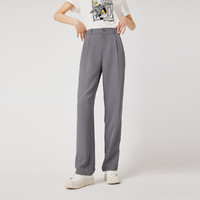 LILY 丽丽 121359C5940 女士垂感直筒西装裤