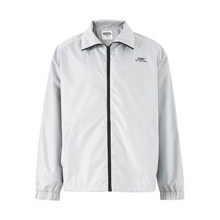 Meters bonwe 美特斯邦威 秋季新款外套纯色休闲翻领直筒宽松基础大众男式夹克