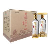 LUZHOULAOJIAO 泸州老窖 特曲系列 晶彩 52%vol 浓香型白酒 500ml*6瓶 整箱装