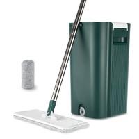 限用户、PLUS会员:MIAOJIE 妙洁 刮刮桶+免手洗平板拖把 共2块拖布