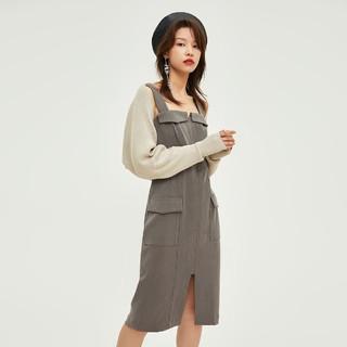 ONLY 2021新款秋季时尚气质两件套连衣裙女