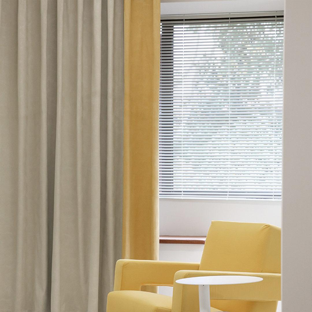 Gafuhome 撞色遮光隔热拼接窗帘 每米定制价