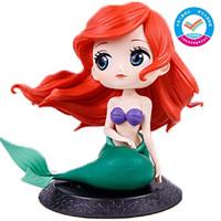 万代BANDAI迪士尼公主女孩玩具礼物手办模型公仔收藏摆件美人鱼爱丽儿普通色