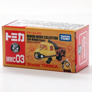 TAKARA TOMY 多美 合金小汽车模型Tomica神偷奶爸斯图尔特运输车卡车