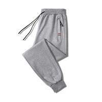 mulinsen男运动长裤宽松跑步针织裤裤子卫裤