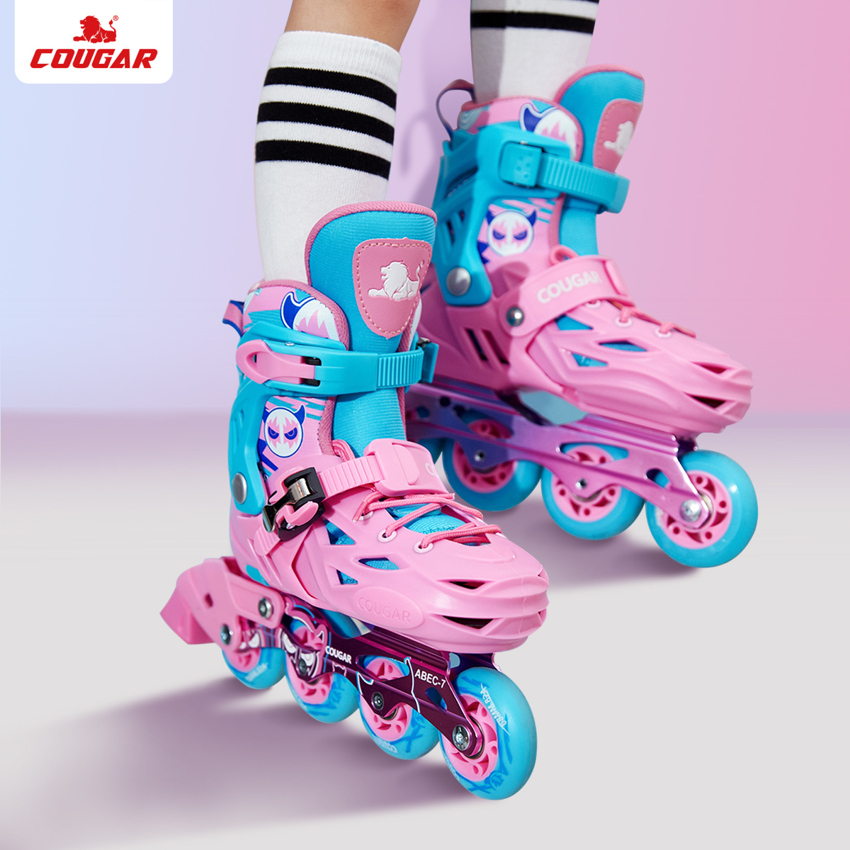 MZS303 儿童轮滑鞋套装