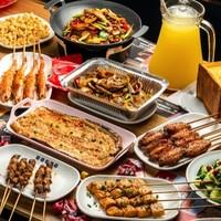 北京6店通用,108元抢烤知味烤翅双人烧烤套餐