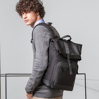 杜尔克双肩包男休闲大容量商务背包旅行书包15.6寸笔记本电脑包