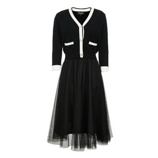 VERO MODA 女士针织连衣裙套装  32117C016S59