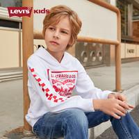 Levi's 李维斯 男童长袖连帽上衣