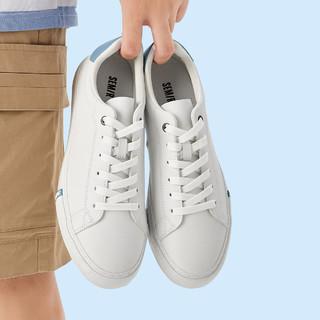 Semir 森马 21年秋季新品撞色鞋子小白鞋男休闲鞋板鞋男鞋