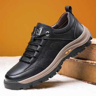 PLOVER 啄木鸟 秋季新品男士休闲鞋防滑耐磨工装鞋旅游登山鞋舒适休闲鞋男鞋
