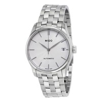 MIDO 美度 Mido Belluna II Automatic Silver Dial Ladies Watch M024.207.11.031.00 直邮含税